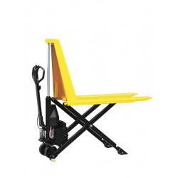 Тележка гидравлическая с ножничным подъемом TOR 1,0 т EHLS1000N электрическая (резин.колеса)