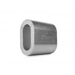 Втулка алюминиевая 20 мм TOR DIN 3093